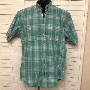 Plaid Dior Button Down Shirt